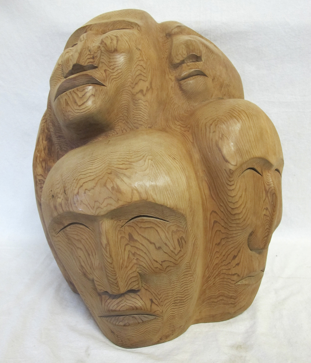 Northwest Coast Salish Nation Totem Mask Carving Robert ...