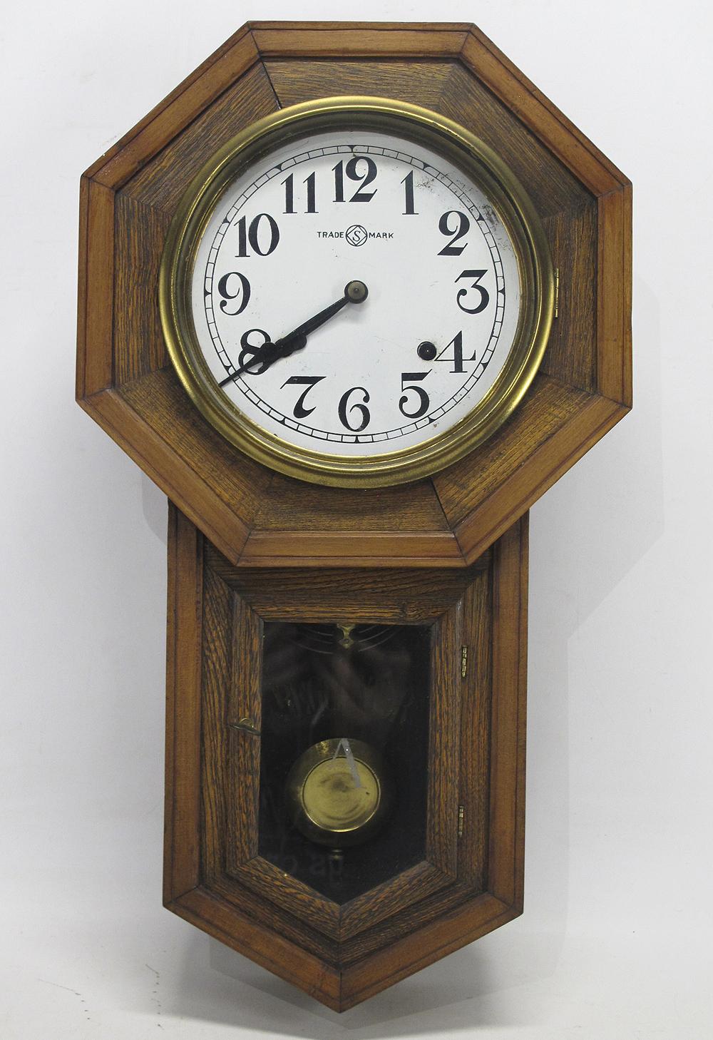 Antique Japanese Seikosha Regulator A Pendulum Wood